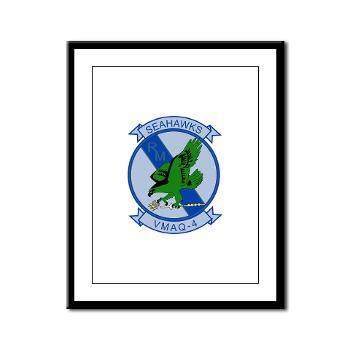 MTEWS4 - M01 - 02 - Marine Tactical Electronic Warfare Squadron 4 - Framed Panel Print