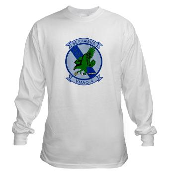 MTEWS4 - A01 - 04 - Marine Tactical Electronic Warfare Squadron 4 - Long Sleeve T-Shirt