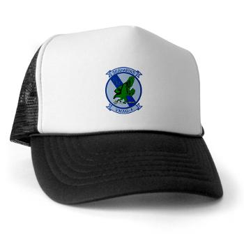 MTEWS4 - A01 - 02 - Marine Tactical Electronic Warfare Squadron 4 - Trucker Hat
