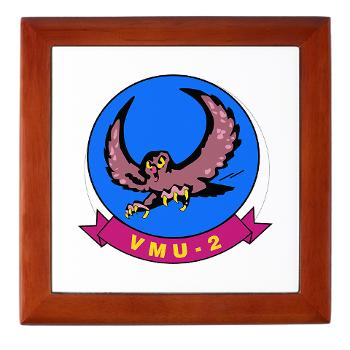 MUAVS2 - M01 - 03 - Marine Unmanned Aerial Vehicle Squadron 2 (VMU-2) - Keepsake Box