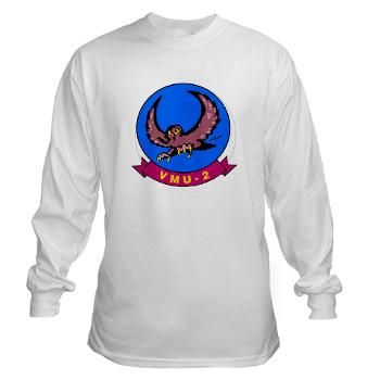 MUAVS2 - A01 - 03 - Marine Unmanned Aerial Vehicle Squadron 2 (VMU-2) - Long Sleeve T-Shirt