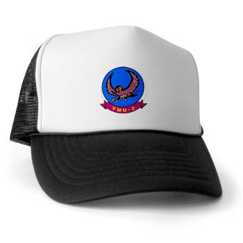 MUAVS2 - A01 - 02 - Marine Unmanned Aerial Vehicle Squadron 2 (VMU-2) - Trucker Hat