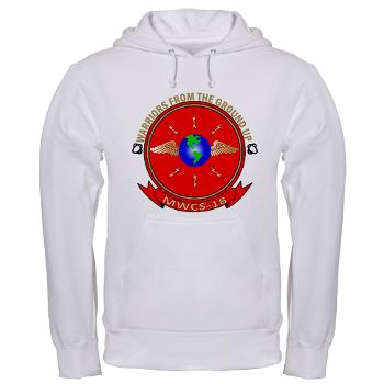 MWCS18 - A01 - 03 - Marine Wing Communications Squadron 18 Hooded Sweatshirt