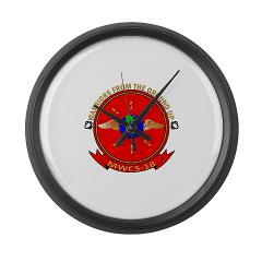 MWCS18 - M01 - 03 - Marine Wing Communications Squadron 18 Large Wall Clock
