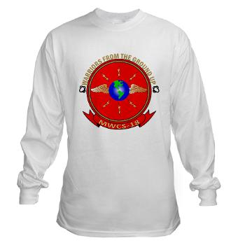 MWCS18 - A01 - 03 - Marine Wing Communications Squadron 18 Long Sleeve T-Shirt