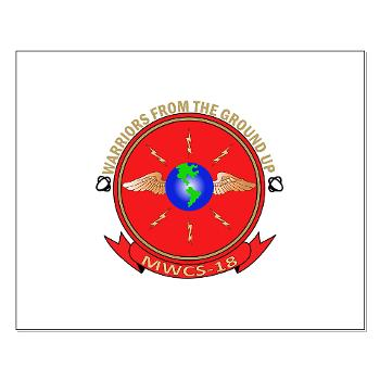 MWCS18 - M01 - 02 - Marine Wing Communications Squadron 18 Small Poster
