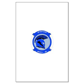 MWCS28 - M01 - 02 - Marine Wing Communications Squadron 28 (MWCS-28) Large Poster