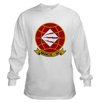 MWCS38 - A01 - 03 - Marine Wing Communications Sqdrn 38 Long Sleeve T-Shirt