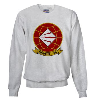 MWCS38 - A01 - 03 - Marine Wing Communications Sqdrn 38 Sweatshirt