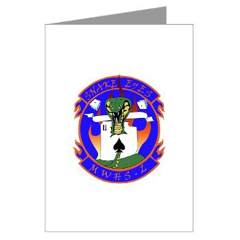 MWHQS2 - M01 - 02 - Marine Wing HQ - Squadron 2 - Greeting Cards (Pk of 20)