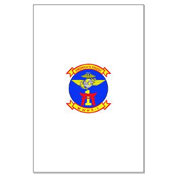 MWHS1 - M01 - 02 - Marine Wing Headquarters Squadron 1 - Large Poster