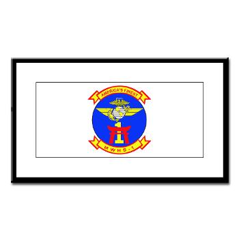 MWHS1 - M01 - 02 - Marine Wing Headquarters Squadron 1 - Small Framed Print
