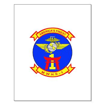 MWHS1 - M01 - 02 - Marine Wing Headquarters Squadron 1 - Small Poster