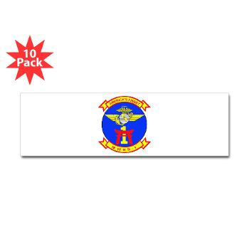 MWHS1 - M01 - 01 - Marine Wing Headquarters Squadron 1 - Sticker (Bumper 10 pk)