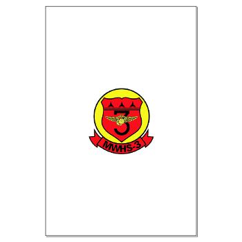 MWHS3 - M01 - 02 - Marine Wing Headquarters Squadron 3 - Large Poster