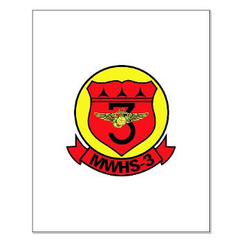 MWHS3 - M01 - 02 - Marine Wing Headquarters Squadron 3 - Small Poster