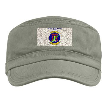 MWLK - A01 - 01 - Marine Wing Liaison Kadena with Text Military Cap