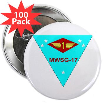 "MWSG17 - M01 - 01 - Marine Wing Support Group 17 2.25"" Button (100 pack)"