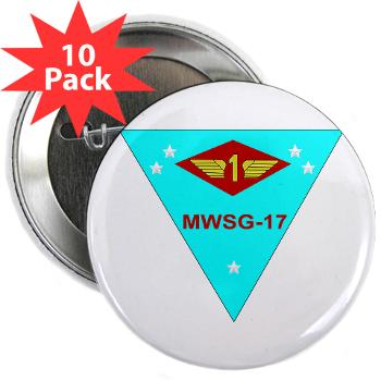 "MWSG17 - M01 - 01 - Marine Wing Support Group 17 2.25"" Button (10 pack)"