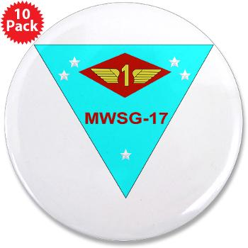 "MWSG17 - M01 - 01 - Marine Wing Support Group 17 3.5"" Button (10 pack)"