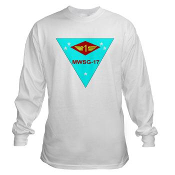 MWSG17 - A01 - 03 - Marine Wing Support Group 17 Long Sleeve T-Shirt