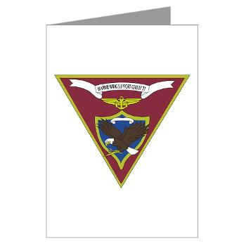 MWSG27 - A01 - 01 - USMC - Marine Wing Support Group 27 (MWSG-27) - Greeting Cards (Pk of 10)