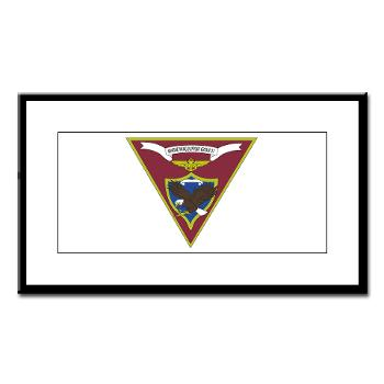 MWSG27 - A01 - 01 - USMC - Marine Wing Support Group 27 (MWSG-27) - Small Framed Print