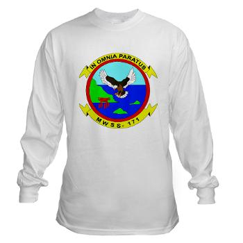 MWSS171 - A01 - 03 - Marine Wing Support Squadron 171 Long Sleeve T-Shirt