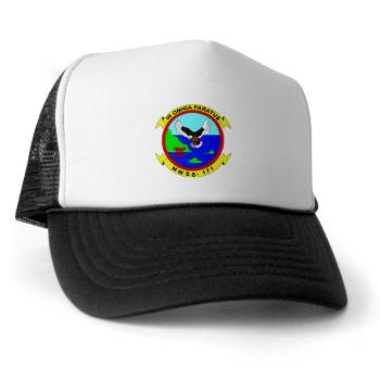 MWSS171 - A01 - 02 - Marine Wing Support Squadron 171 Trucker Hat