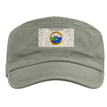 MWSS171 - A01 - 01 - Marine Wing Support Squadron 171 with Text Military Cap