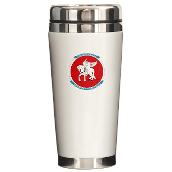 MWSS271 - M01 - 03 - Marine Wing Support Squadron 271 (MWSS 271) Ceramic Travel Mug