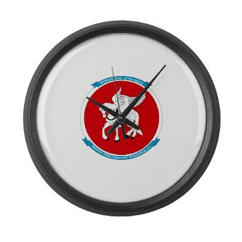MWSS271 - M01 - 03 - Marine Wing Support Squadron 271 (MWSS 271) Large Wall Clock