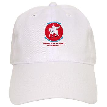 MWSS271 - A01 - 01 - Marine Wing Support Squadron 271 (MWSS 271) with text Cap