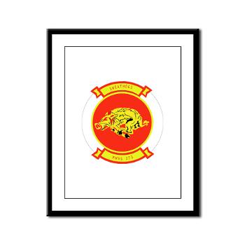 MWSS273 - M01 - 02 - Marine Wing Support Squadron 273 (MWSS 273) Framed Panel Print