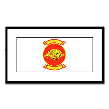 MWSS273 - M01 - 02 - Marine Wing Support Squadron 273 (MWSS 273) Small Framed Print