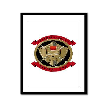 MWSS274 - M01 - 02 - Marine Wing Support Squadron 274 (MWSS 274) - Framed Panel Print