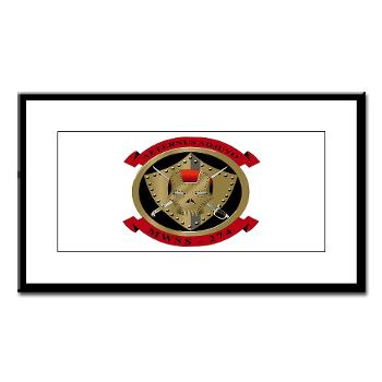 MWSS274 - M01 - 02 - Marine Wing Support Squadron 274 (MWSS 274) - Small Framed Print