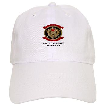 MWSS274 - A01 - 01 - Marine Wing Support Squadron 274 (MWSS 274) with Text - Cap