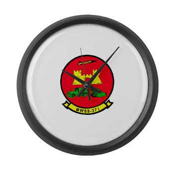 MWSS371 - M01 - 03 - Marine Wing Support Squadron 371 - Large Wall Clock