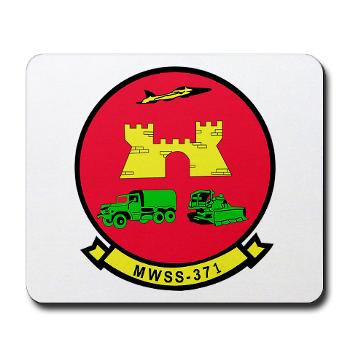 MWSS371 - M01 - 03 - Marine Wing Support Squadron 371 - Mousepad