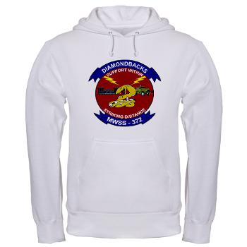 MWSS372 - A01 - 03 - Marine Wing Support Squadron 372 - Hooded Sweatshirt