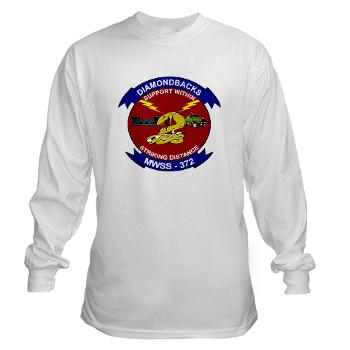 MWSS372 - A01 - 03 - Marine Wing Support Squadron 372 - Long Sleeve T-Shirt