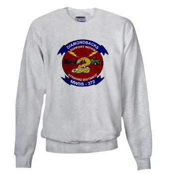 MWSS372 - A01 - 03 - Marine Wing Support Squadron 372 - Sweatshirt