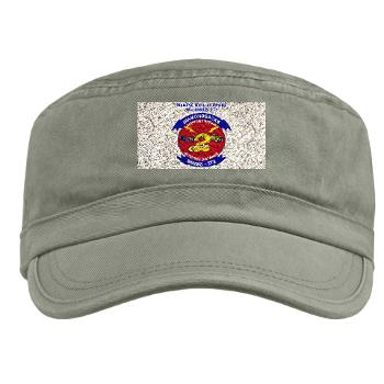 MWSS372 - A01 - 01 - Marine Wing Support Squadron 372 with Text - Military Cap