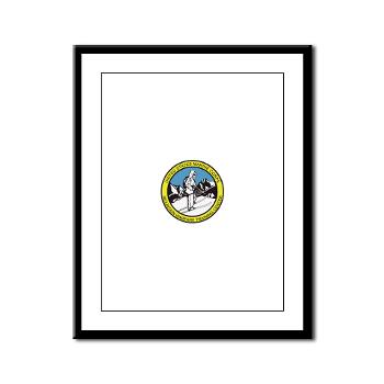 MWTC - M01 - 02 - Mountain Warfare Training Center - Framed Panel Print