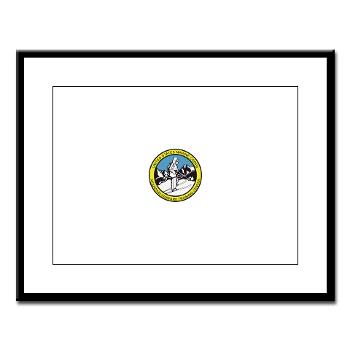 MWTC - M01 - 02 - Mountain Warfare Training Center - Large Framed Print