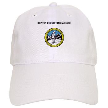 MWTC - A01 - 01 - Mountain Warfare Training Center with Text - Cap