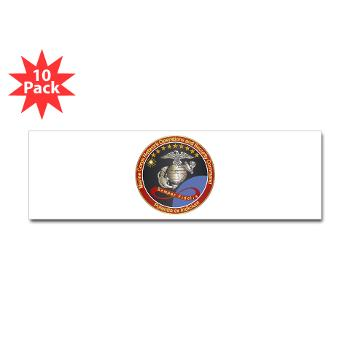 MCNOSC - M01 - 01 - Marine Corps Network Operations Security Command - Sticker (Bumper 10 pk)