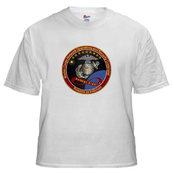 MCNOSC - A01 - 04 - Marine Corps Network Operations Security Command - White t-Shirt