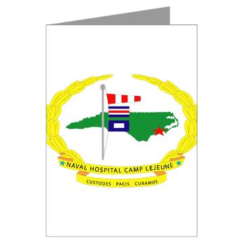 NHCL - M01 - 02 - Naval Hospital Camp Lejeune - Greeting Cards (Pk of 10)